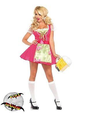 Beer Garden Halloween Costume (New Oktoberfest Womens Beer Garden Gretal Dress Halloween)