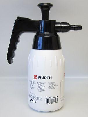 1x Würth 1000ml Pumpsprühflasche 360° Sprühflasche unbefüllt Handsprüher