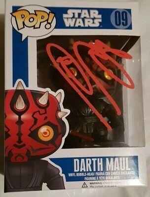 Ray Park, Darth Maul, Signed Funko Pop Star Wars