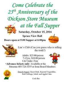 Dickson Store Museum Fall Supper