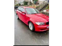 Red BMW 1 series Petrol