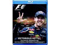Victorious Vettel: Formula One Blu-ray