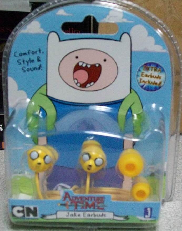 Adventure Time Earbuds Headphones I-phone Mp3 Jake In Package Ssep15-176