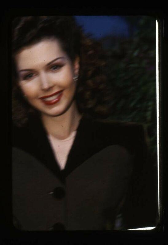 Ann Miller Vintage Kodachrome Color Candid Original 35mm Transparency