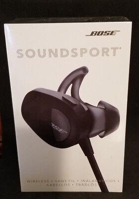 Bose SoundSport WIRELESS headphones Bluetooth NFC - Inky