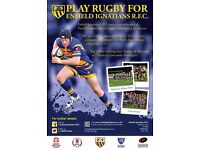 RUGBY - NEW PLAYERS WANTED - ENFIELD/NORTH LONDON