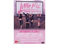 Little mix Durham 15th July
