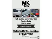 CAR WINDOW TINTS