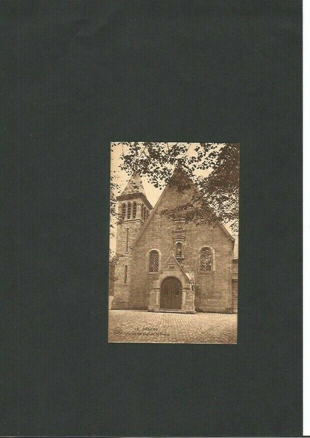 Arlon-carte postale - Entrée de l'Eglise Saint Donat-édition Tibesar