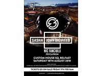 2 Sasha & digweed tickets £40 for both 🚀