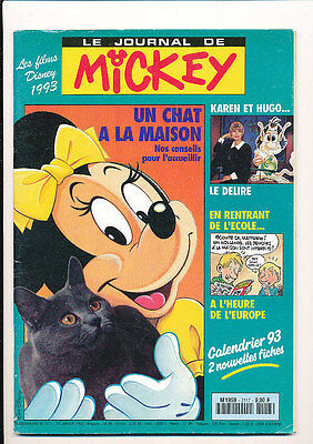 LE JOURNAL DE MICKEY 2117 (13/1/93) KAREN CHERYL