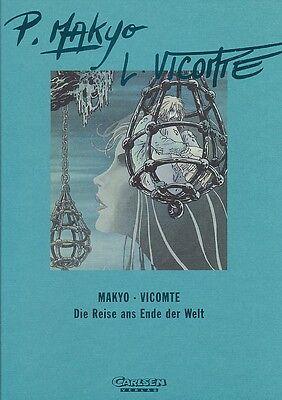 Reise ans Ende der Welt 1-4  Hardcover Luxus Band im Schuber von Makyo (Carlsen)
