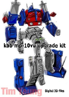 Transformers Kbb Mp 10 V Upgraded Armor 3D Stl Files Please Read