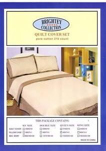 Pure cotton PLANE Quilt cover set (stock sale) $10 Enfield Burwood Area Preview