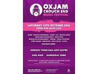 Oxjam Crouch End Music Festival