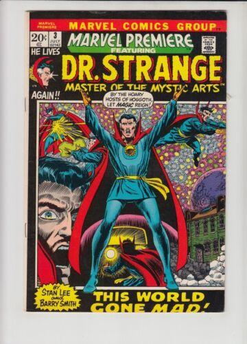 MARVEL PREMIERE #3 FN DR. STRANGE BEGINS!!