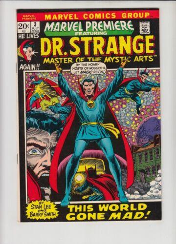 MARVEL PREMIERE #3 FN/VF DR. STRANGE BEGINS!!