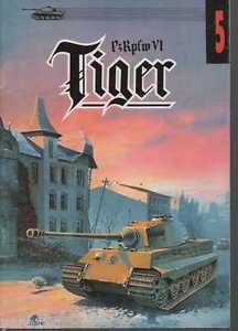 German tank PzKpf VI TIGER pt.2 - &quot;Militaria&quot; Publishing Ledwoch - <span itemprop=availableAtOrFrom>Reda, Polska</span> - Zwroty są przyjmowane - Reda, Polska