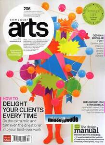 COMPUTER ARTS MAGAZINE October 2012 How to Delight your clients + Disc