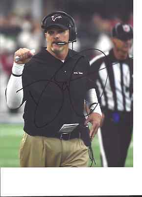 Dan Quinn Atlanta Falcons Signed 8X10 Photo W Coa