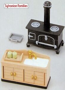 Sylvanian Families Family JP house furniture kitchen set rare AU