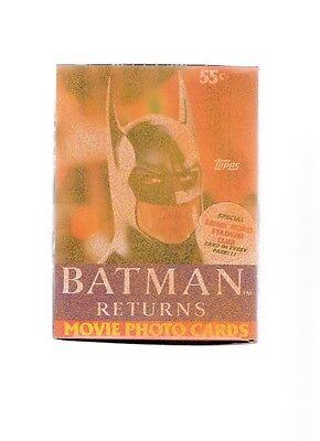 1992 Batman Returns Movie Cards Topps Unopened Wax Box 36 Mint Wax Packs