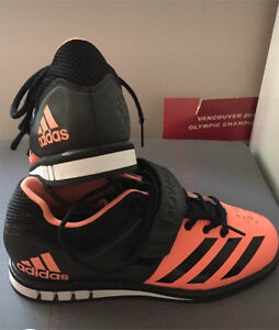 Adidas weight lifting shoes- women's