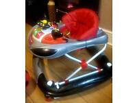 Baby 'Racing Car' Walker with Lights and Sounds