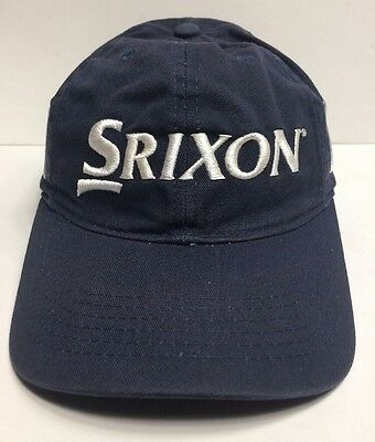 b50349dbec5 Srixon Z Star Golf Cap Hat Navy Blue Adult Adjustable Cotton
