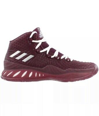 reputable site f2fa9 2fdf7 Adidas Crazy Explosive 2017 Sneakers Burgundy Mens Shoe Size 7 BY3772