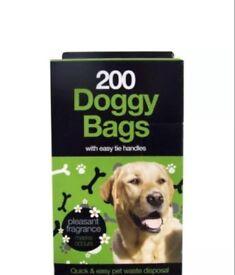 Scented Dog bags. 200 bags per pack. JOB LOT 22 PACKS