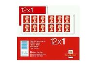 Royal Mail 1st Class Stamps Book New