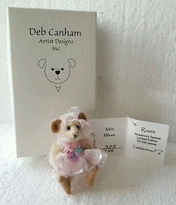 Deb Canham Mini Mices Rosemont Special Rosie LE 335