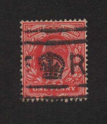 GB (UK) 128 cancel 10/53 (King's Cancel) .. 2021 Scott=$12.80