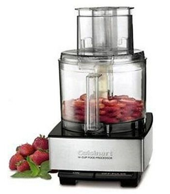 NEW - NOT REBURB ! -- Cuisinart DFP-14BCNY 14-Cup Food Processor Blk & Stainless