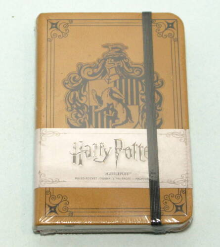 Insights Journals: Harry Potter: Hufflepuff Ruled Pocket Journal - New, Sealed