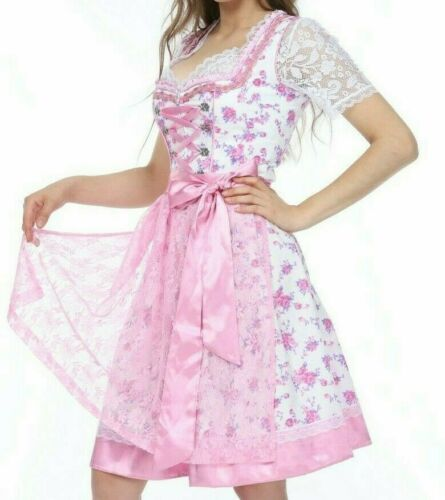 041 .. Dirndl Oktoberfest German Austrian Dress -Sizes: 6.8.10.12.14.16.18.20.22