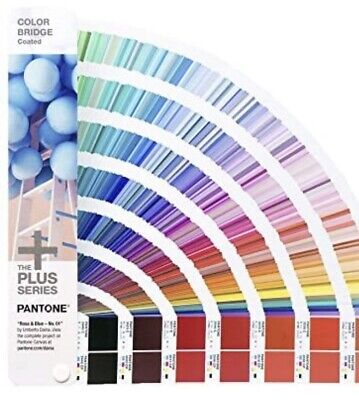 Pantone Color Guides The Plus Series Color Bridge Gp1602n Coated Uncoated Sealed