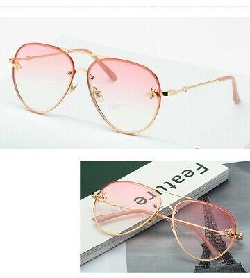 Gafas de sol vintage Fenchi estilo piloto para mujer