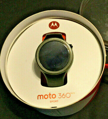 Motorola Moto 360 Smart Watch 1st Gen Black Stopped Charging Last Updated comprar usado  Enviando para Brazil