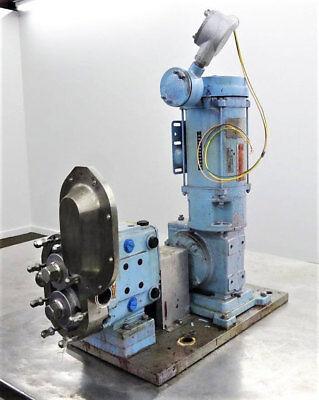 Waukesha Positive Displacement Pump Model 030u2ap 1.5 Tri-clamp Stainless