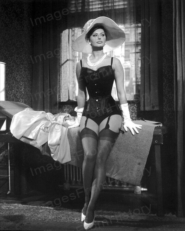 8x10 Print Sophia Loren Sexy Leggy Cheesecake Pin Up #SL57