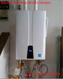 Navien Tank less water heater sale