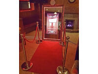 Magic Mirror Photo Booth Hire, Prices from £275