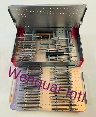 Broken Screw Removal Instrument Set Of Orthopedic Spine Insturmants