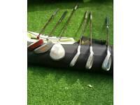 Child's golf clubs