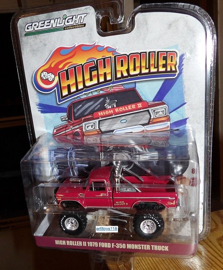 Greenlight 1979 Ford F-350 Monster Truck High Roller Exclusi