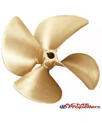 "Acme 537 4 Blade Propeller 13.5 X 16 V L 1-1/8"""