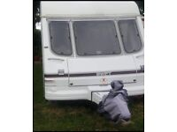 Swift conqueror 5 berth twin axle touring caravan