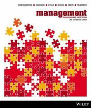 Management - Foundations and Applications Textbook Ottoway Port Adelaide Area Preview